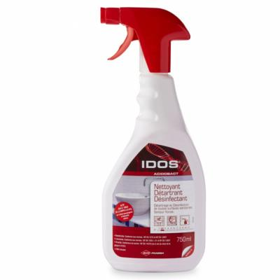 Spray Désinfectant Virucide Norme 14476 Idos 750 ml